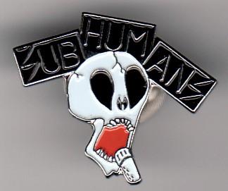 Subhumans - Metal-Pin