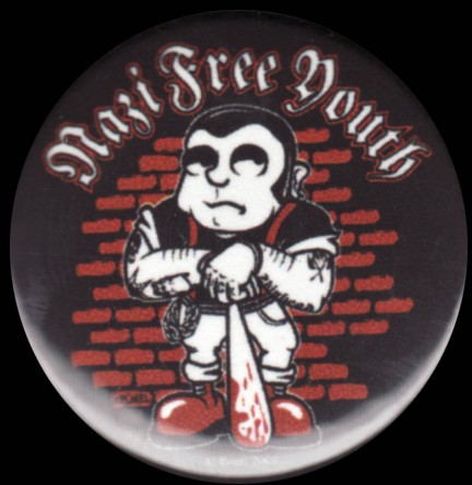 Nazi Free Youth (Boile) - Button 37mm