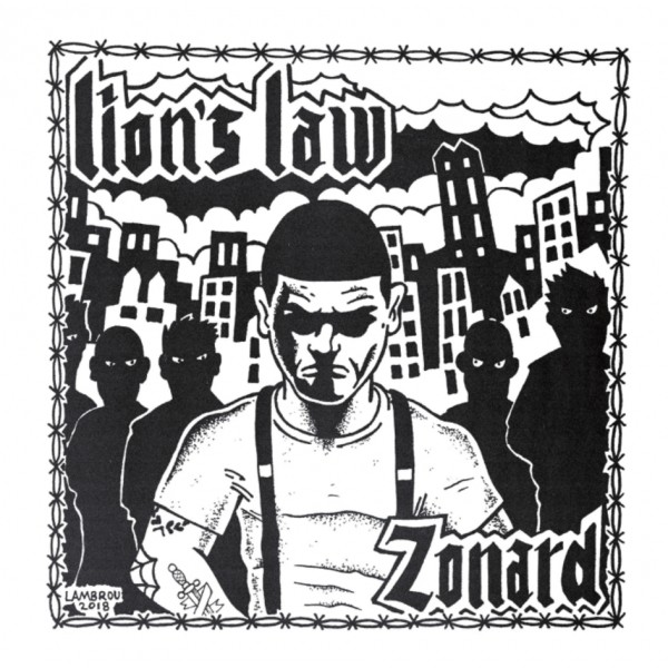 """LION'S LAW - """"Zonard"""" 7""""EP"""
