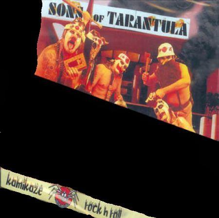 Sons of Tarantula - Kamikaze Rock'n'Roll CD