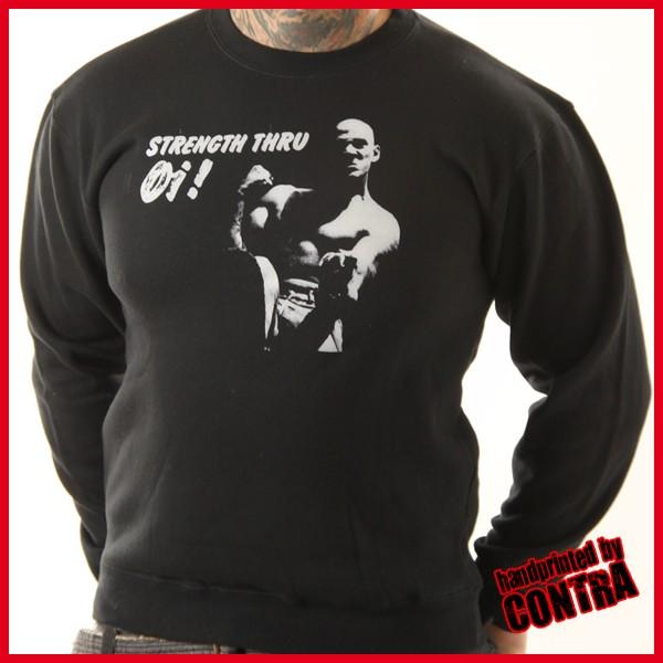 Strength thru Oi! - Sweater-M (last size!)