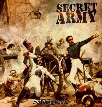 "Secret Army - Redemption 7""EP lim. White"