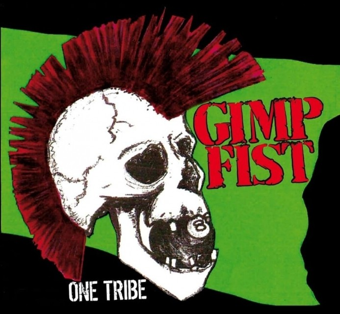"Gimp Fist - One Tribe 12""LP lim.200 black"
