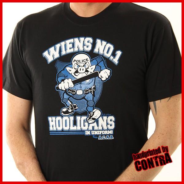 Wiens No.1 - Hooligans in Uniform - T-Shirt-S(Last size!!)