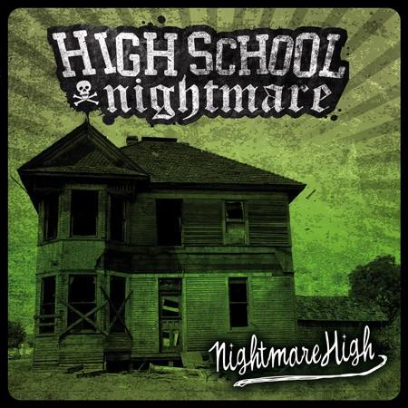 """Highschool Nightmare - Nightmare high 12""""LP lim. black"""