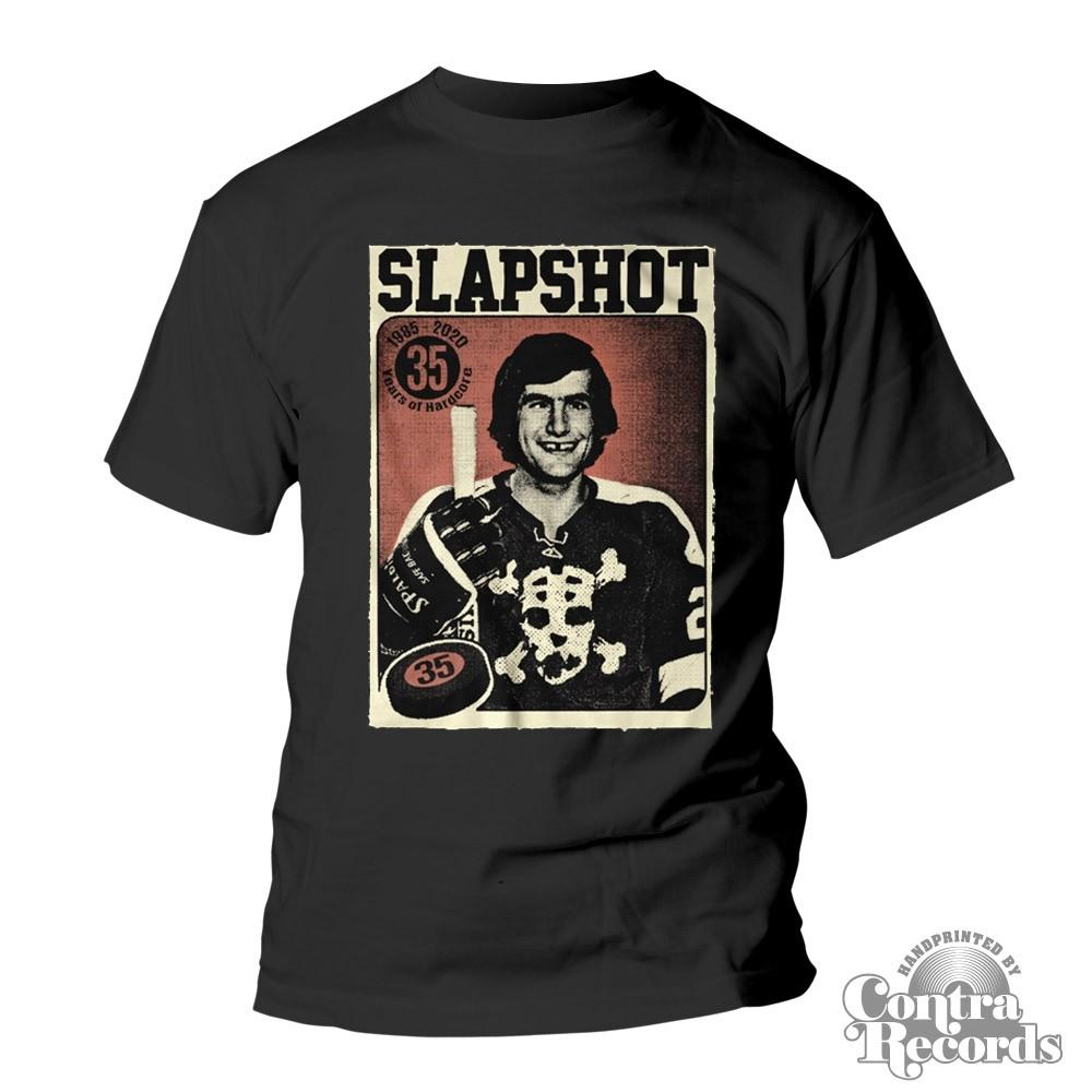 """Slapshot - """"35 Years Of Hardcore"""" - T-Shirt"""