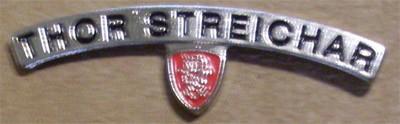 Metall Pin - Thor Streichar