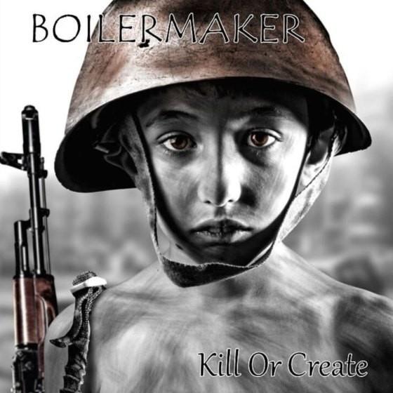 "Boilermaker - Kill or create 12""LP lim.100 blue marbled"