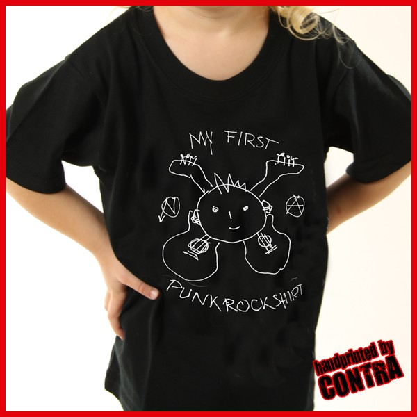 My first Punkrockshirt - Kids Shirt