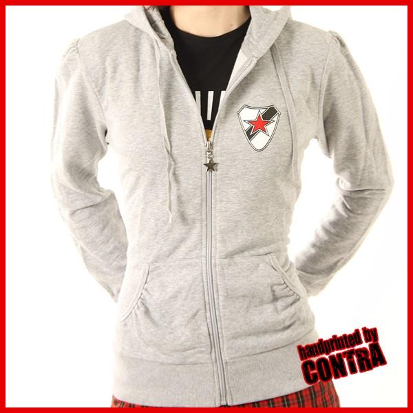 Roter Stern Leipzig grey - Girl Hoody (last sizes!!)