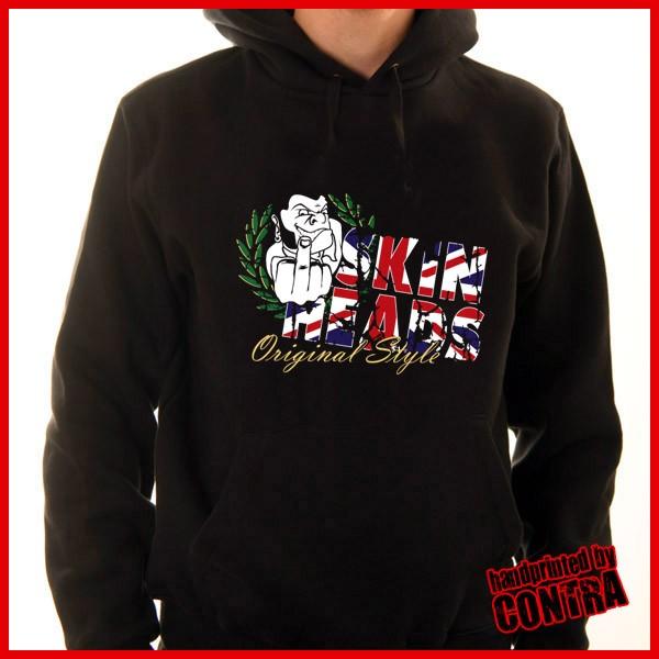 Skinhead - british style - Hoody-S (Last size!!!)
