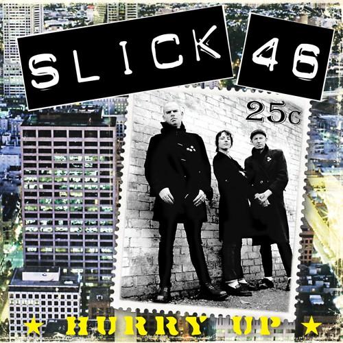"Slick 46 - Hurry up - Gatefold-12""LP+CD lim.300 A-/B-Side yellow & blue"
