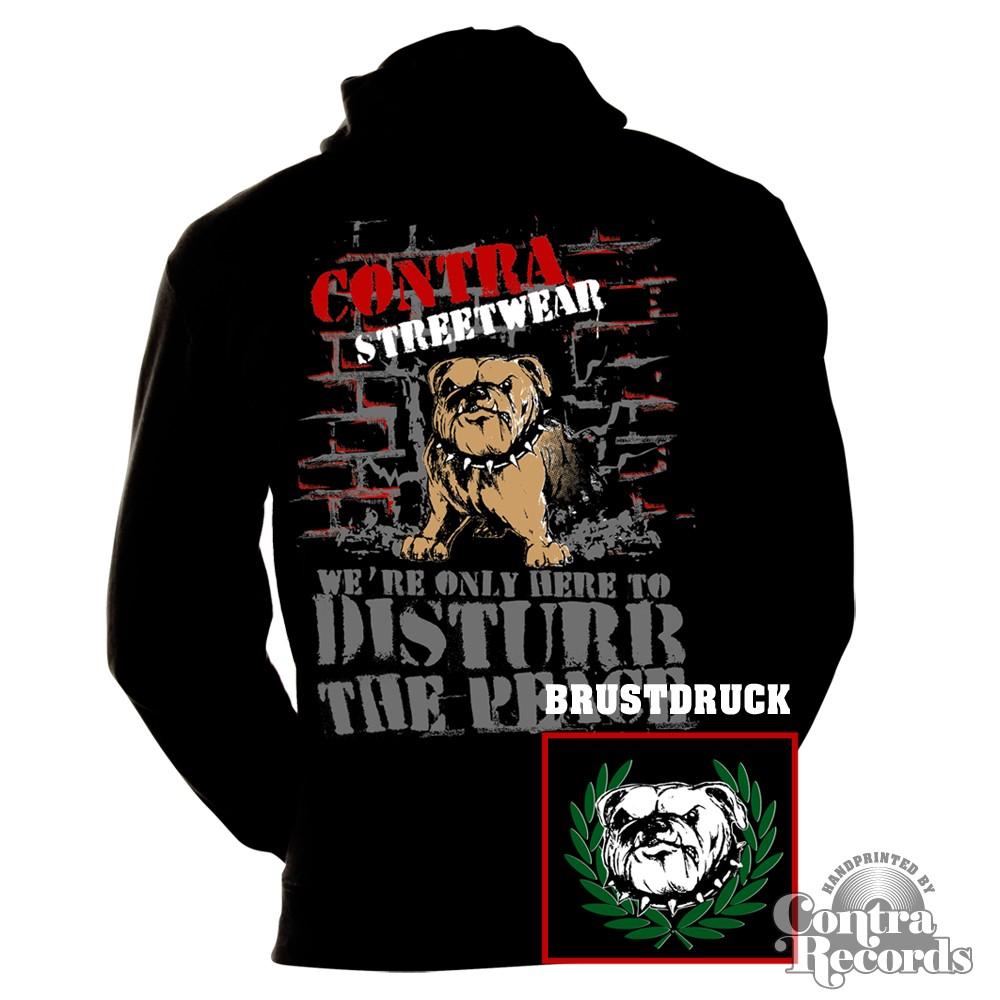 Contra - Streetwear Bulldog neu -  Hoody Jacket-S (last size!!)
