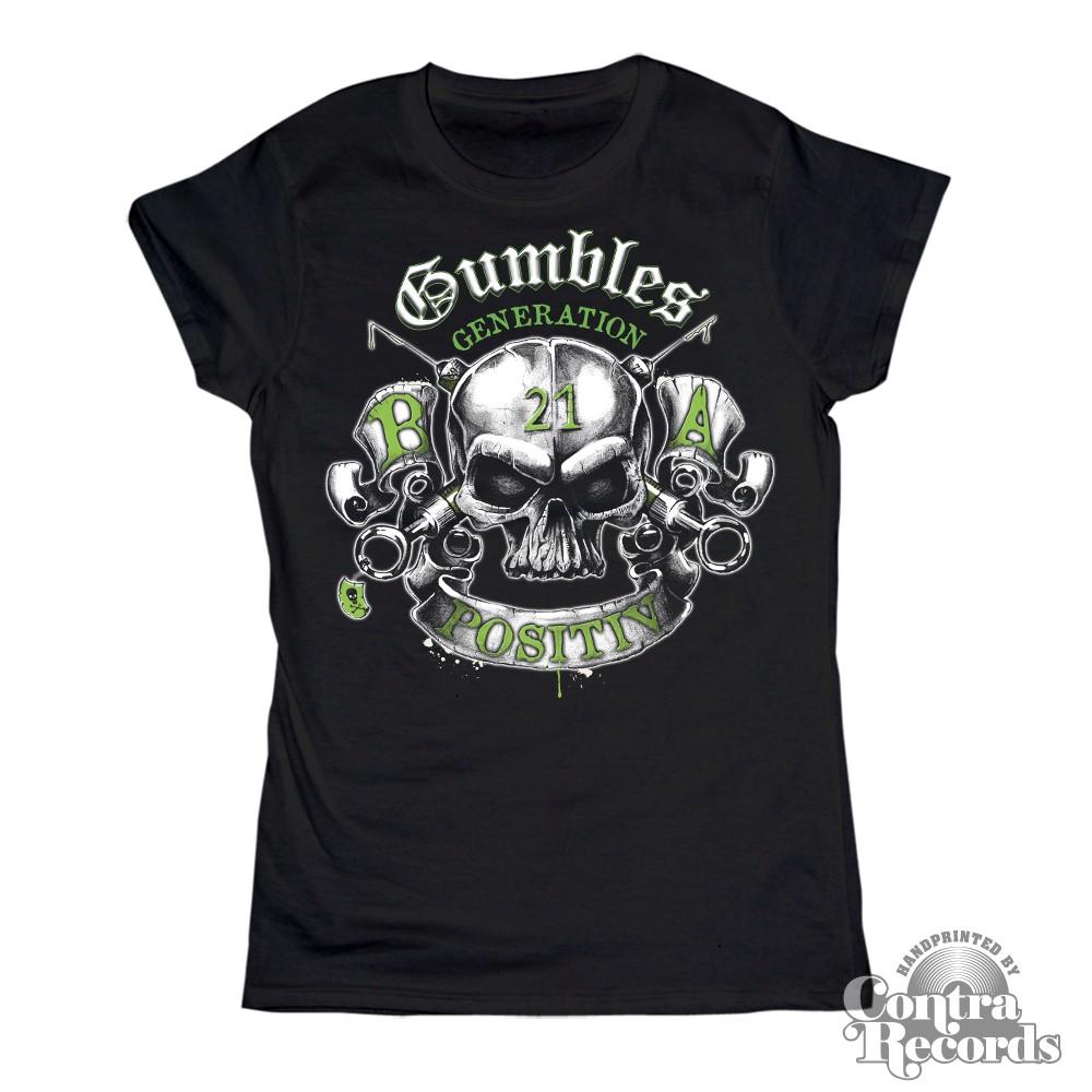 Gumbles - Generation21 Skull - Girl Shirt