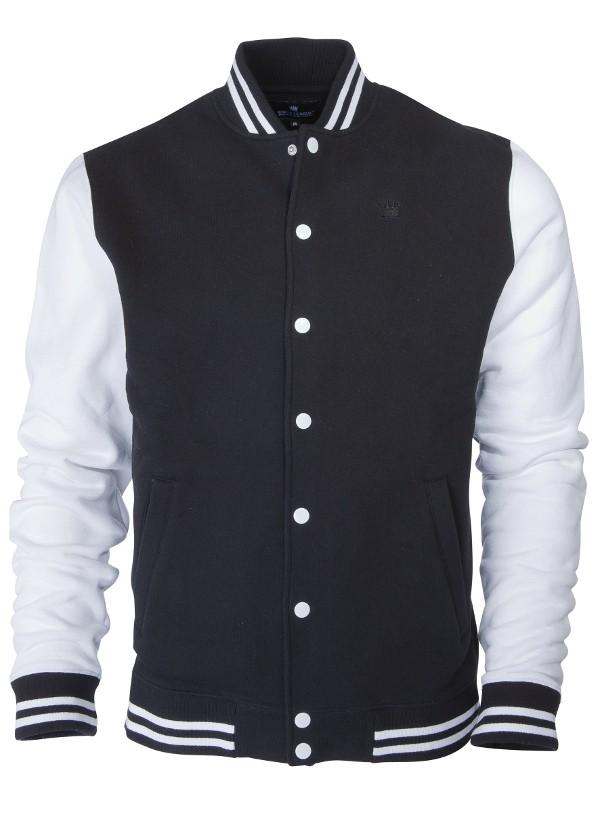 Kings League - black/white - College Sweat Jacket-XL (last size)