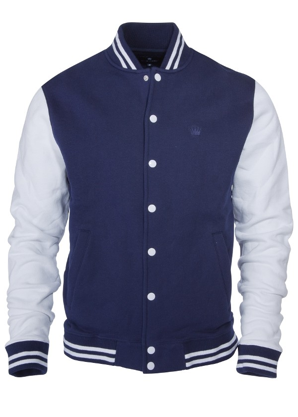 Kings League - dark navy/white - College Sweat Jacket (last sizes)