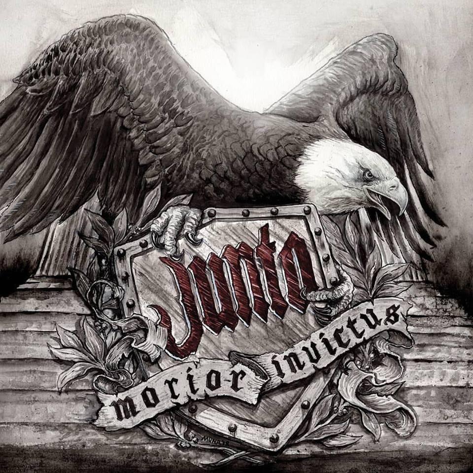 """Junto - """"Morior Invictus"""" - 12""""LP lim. 250 oxblood (excl. on Contra Records)"""