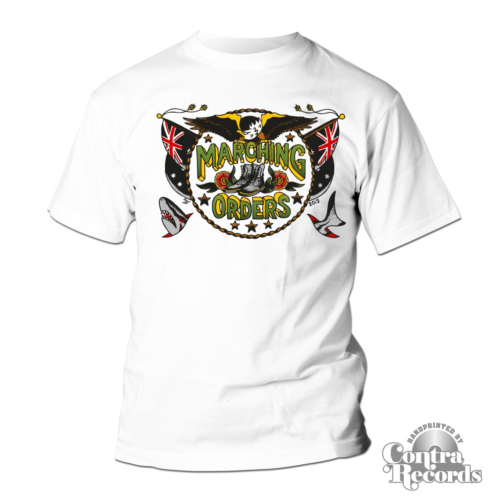 Marching Orders - Eagle colored - T-Shirt (last sizes)