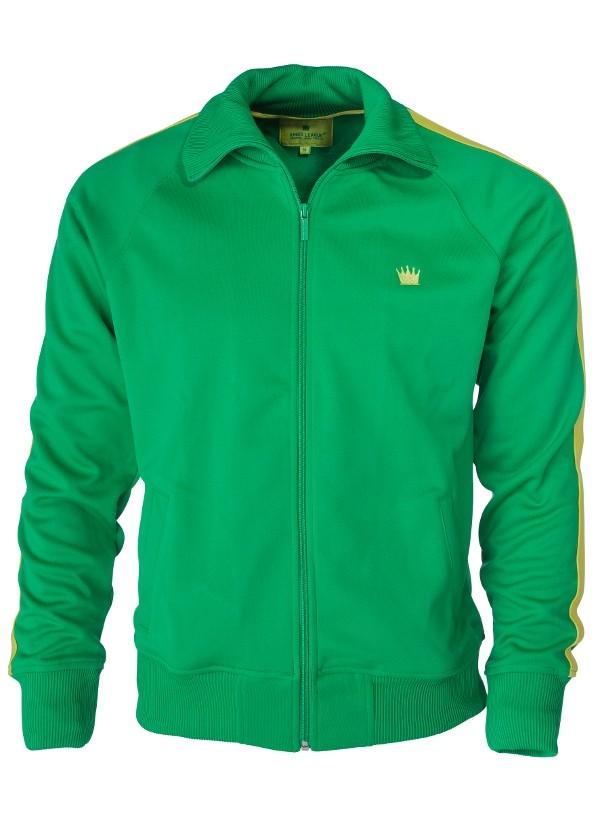 Kings League - apple green/yellow - Trainingsjacke-S (Last Size!)