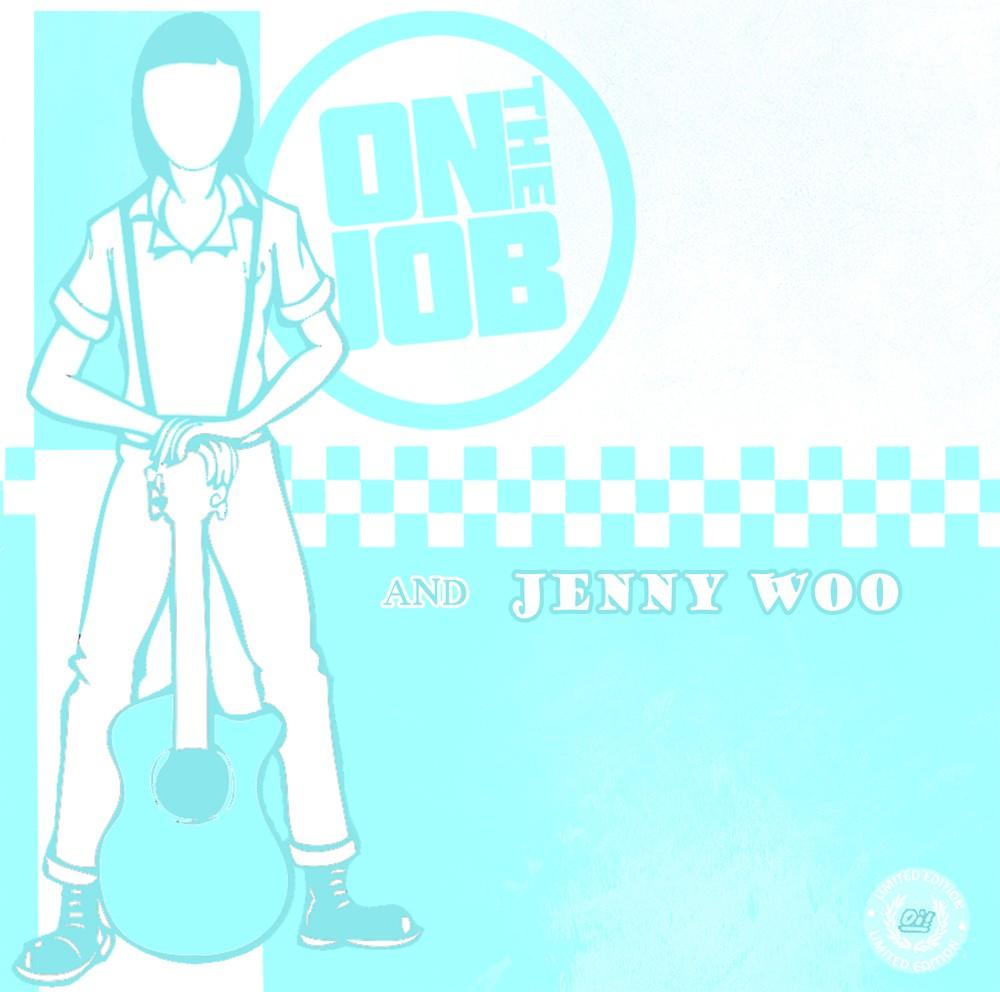 V/A On the Job/ Jenny Woo - Split 7'EP lim.500Black