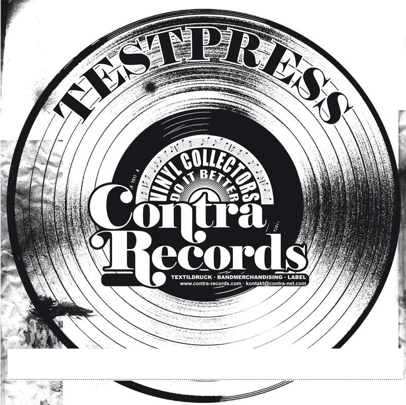 "V/A Volxsturm/Harrington Saints -40 Years ...And Still Going Strong! Split7"" EP lim.1 Testpress"