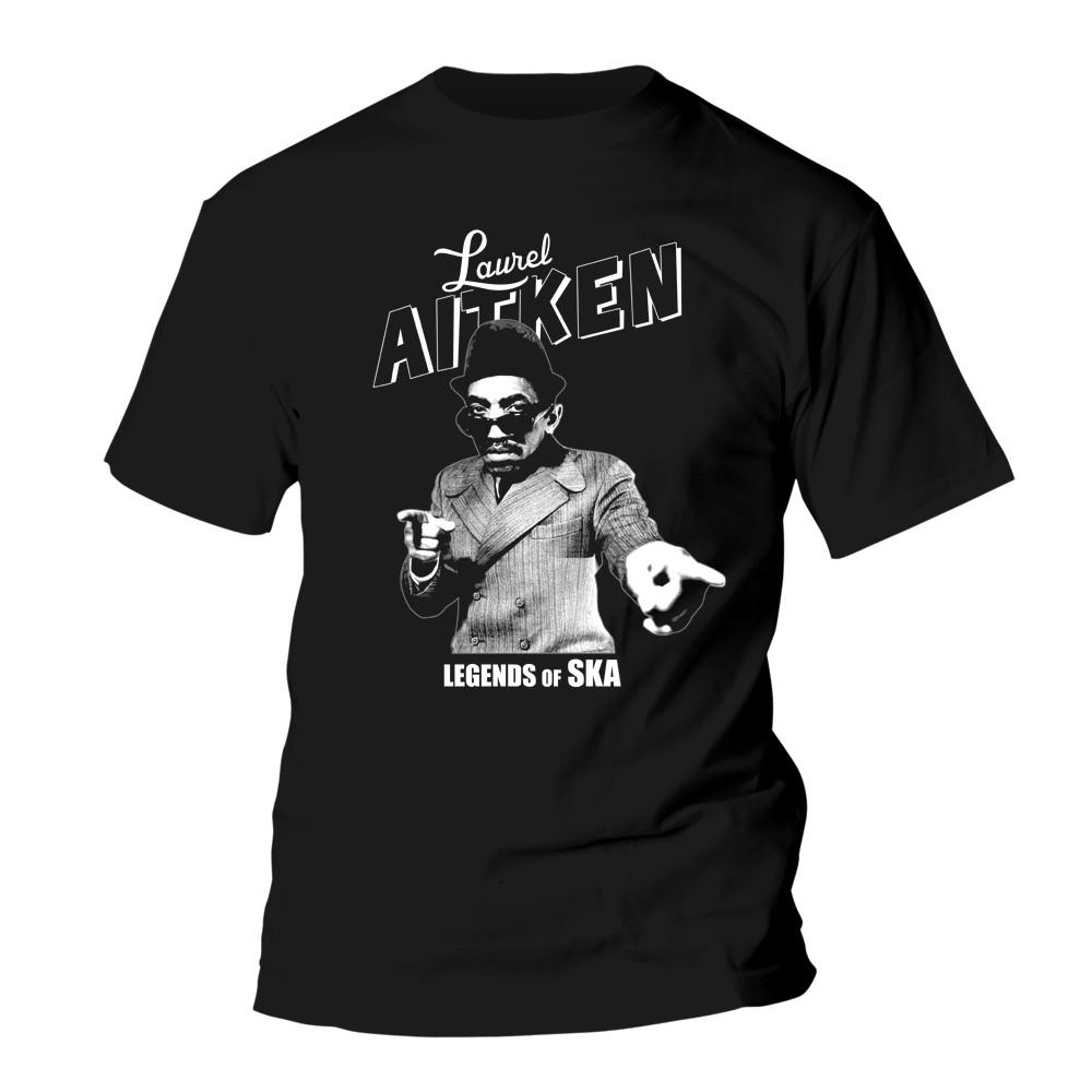 Laurel Aitken - Legends of SKA - T-Shirt black