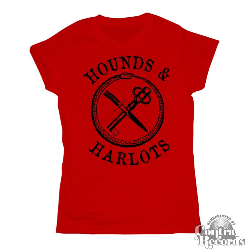 Hounds and Harlots - Girl Shirt - rot