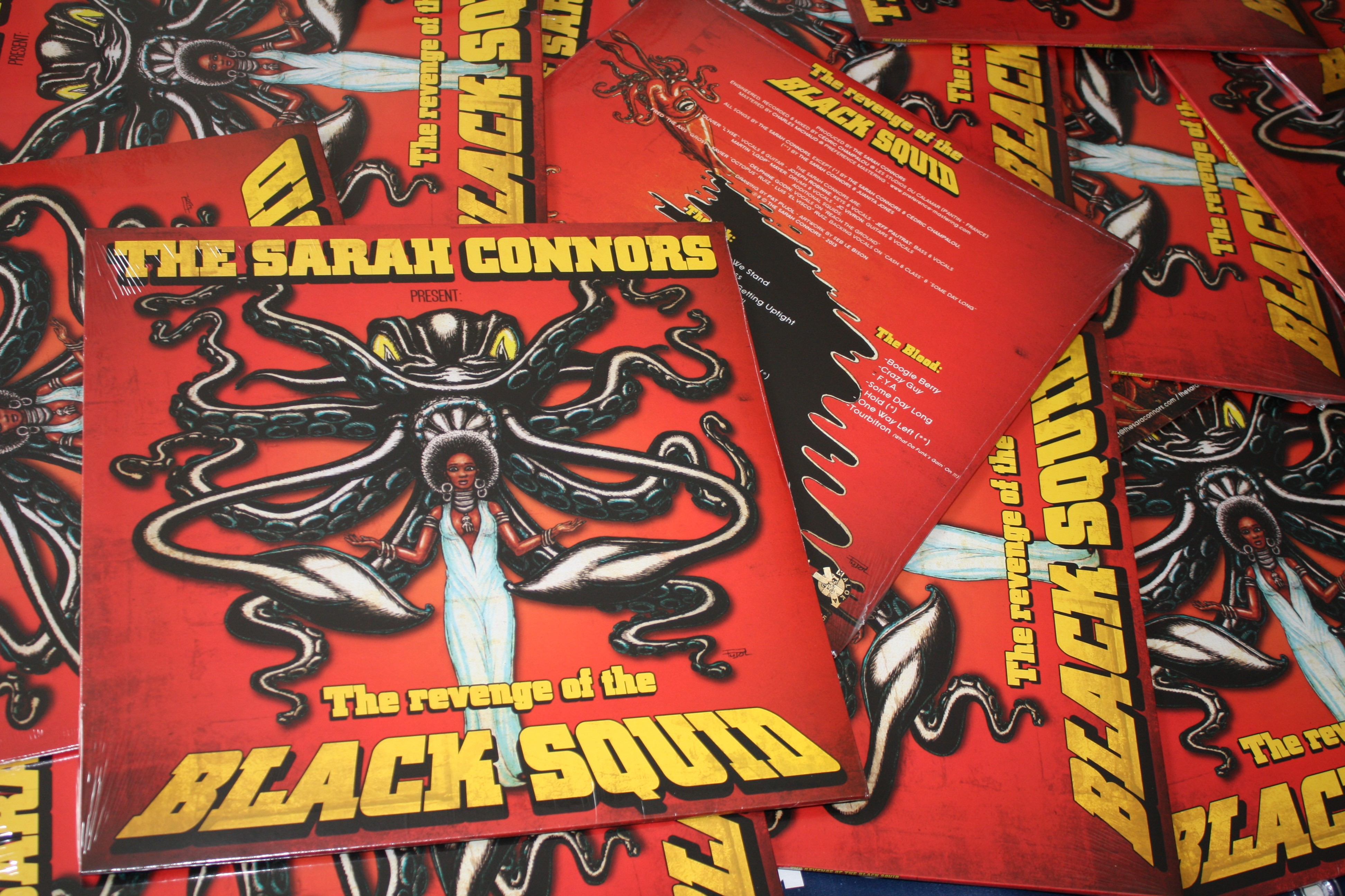 Sarah Connors, the - The Revenge of the Black Squid - LP