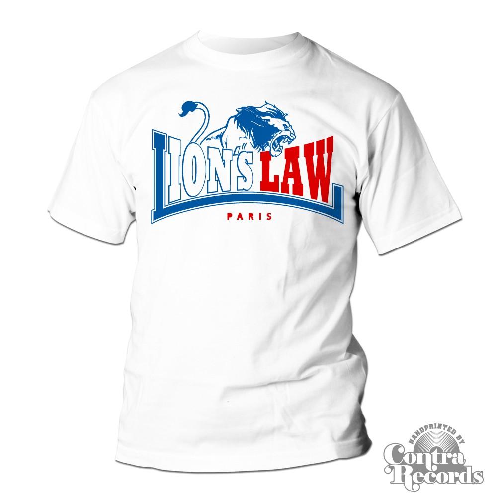 Lion's Law - LION - T-Shirt - white