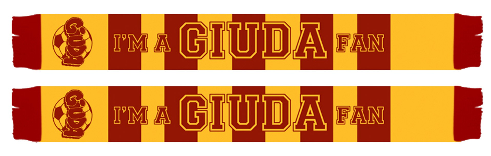Giuda - Schal red/yellow