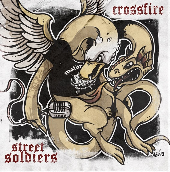 """V/A Crossfire / Street Soldiers - Split 7""""EP"""