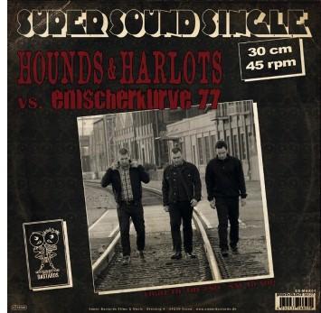 """V/A Hounds& Harlots/ Emscherkurve77-Split 12""""LP Super Sound"""