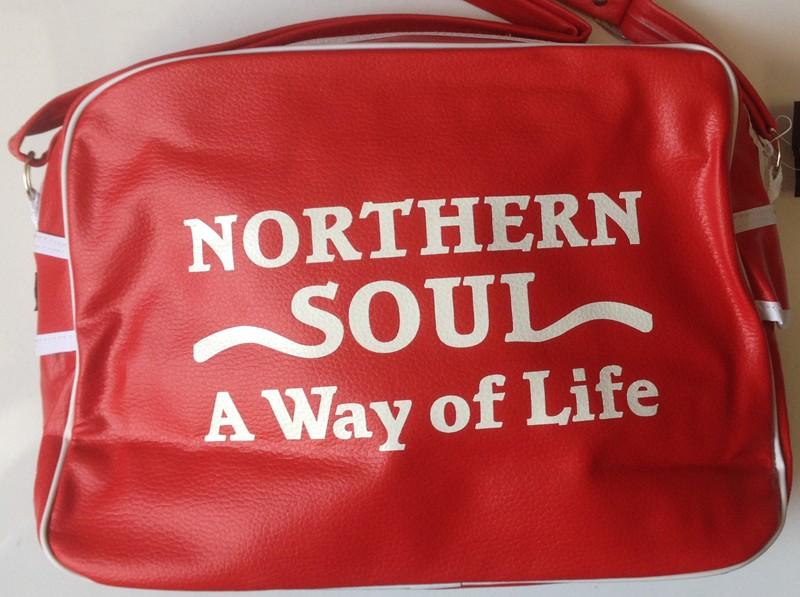 PVC Shoulder Bag Northern Soul Way of Life