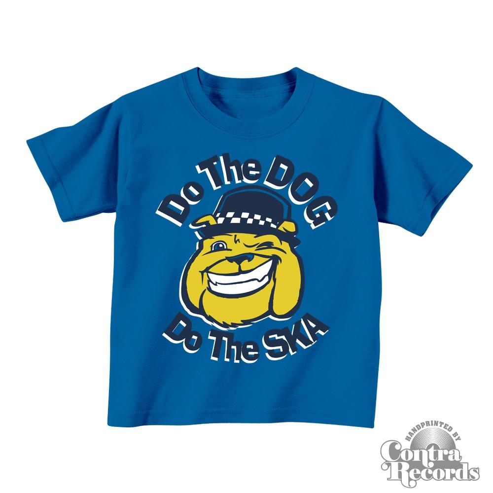 Do the Dog, Do the Ska - Kids Shirt blue