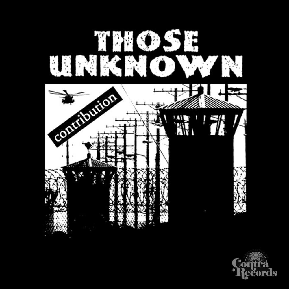 "Those Unknown - Contribution - lim.367 black 7""EP"