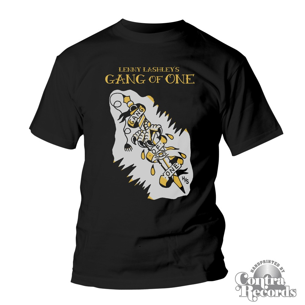 LENNY LASHLEY'S GANG OF ONE - T-Shirt - black