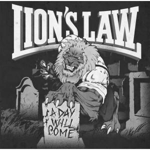 """LION'S LAW  - """"A Day Will Come"""" LP + CD Repress"""