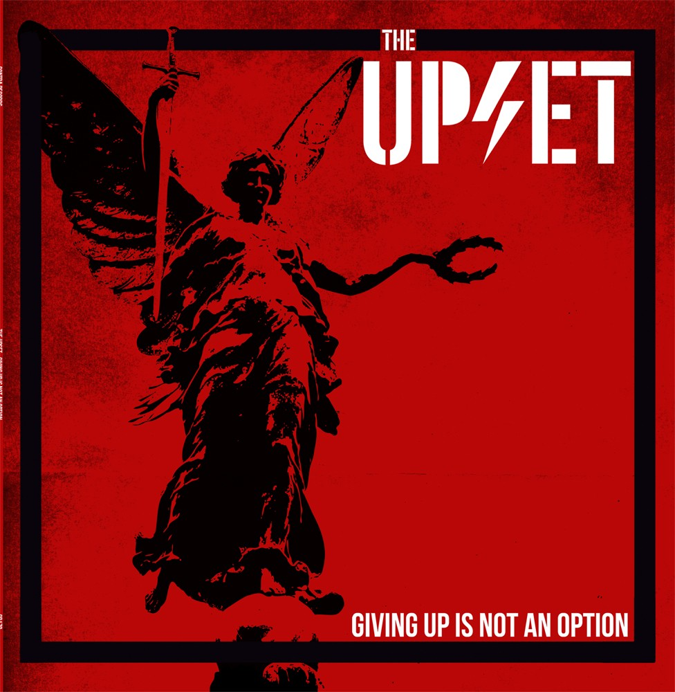 Upset,the - GIVIN UP IS NOT AN OPTION - LP, lim.100 black
