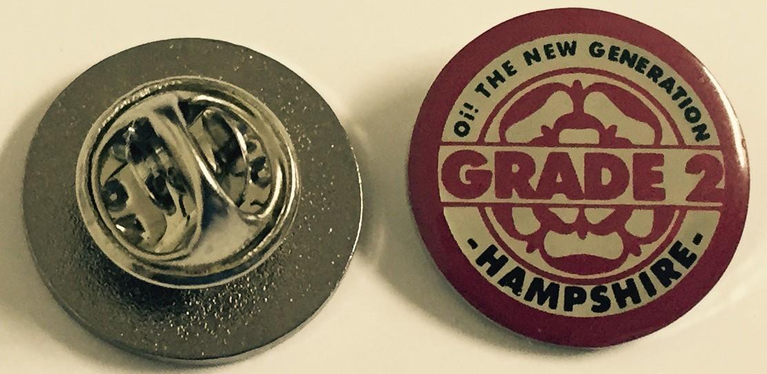 Metall-pin - Grade 2