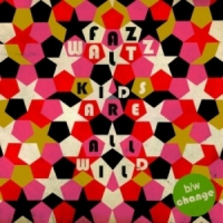 "FAZ WALTZ - The Kids Are All Wild - red 7"" EP"