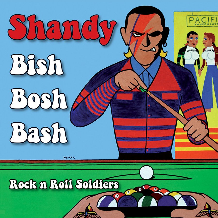 "SHANDY -  BISH BOSH BASH - 7"" EP, lim. 300 red"