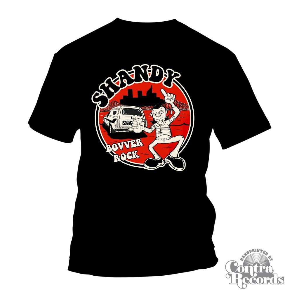 Shandy - Bovver Rock - T-Shirt black-S (last size!)