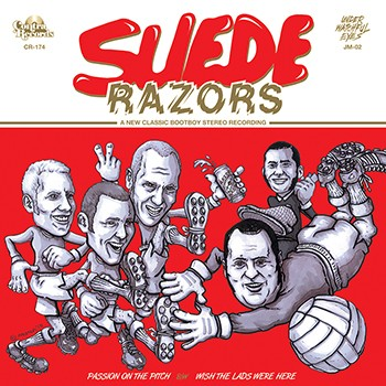 """SUEDE RAZORS -""""Passion On the Pitch""""-7""""EP, lim.red"""