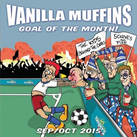 "Vanilla Muffins -""Goal of the month Sept/Okt 2015"" 7""EP, green"