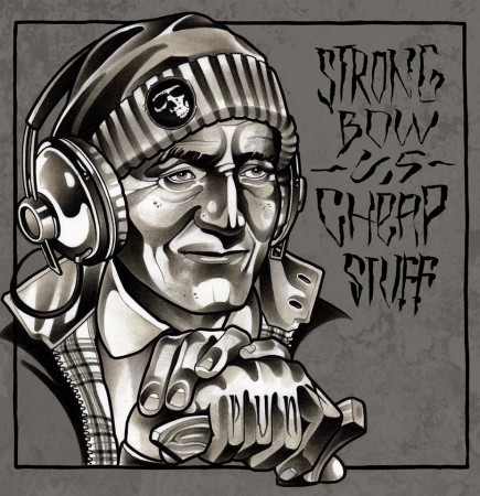 "V/A Strongbow vs. Cheap Stuff - split 10""LP"