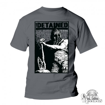 """DETAINED,THE - """"IRON & BLOOD"""" - T-Shirt (last sizes)"""