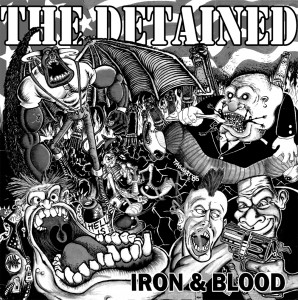 "DETAINED-""IRON & BLOOD""-7""EP, lim.10/Testpres"