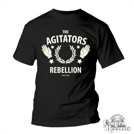 AGITATORS, THE - Rebellion - T-Shirt black (last sizes!)