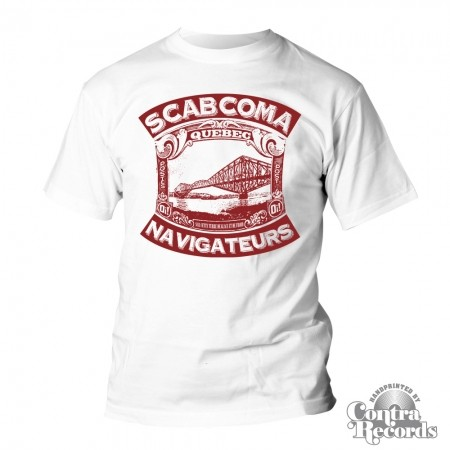 Scab Coma - T-Shirt - white