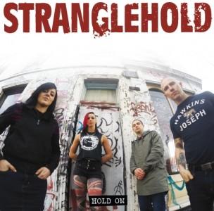 """STRANGLEHOLD  - HOLD ON 7""""EP, lim.200 black"""